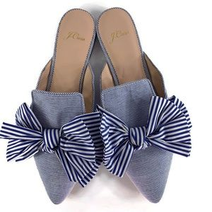 J. Crew Pointed Toe Mule Size 9.5